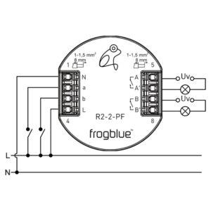 frogblue-frogRelay2-2-PF_Anschlussschema