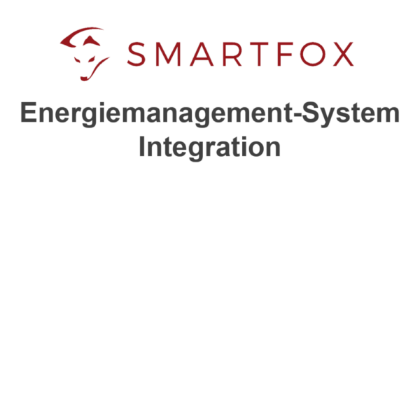 SMARTFOX PRO Energiemanagement-System Integration